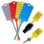 Schlüsselanhänger Uni-Fix: 200 Stück mit Schnellverschluss