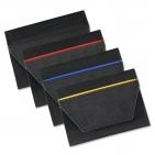 Führerscheintasche Colour Stripe mit 5 Klarsichfächer