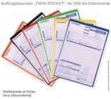 Auftragstasche Twin-Pocket: 2-seitige Einschubfächer A4
