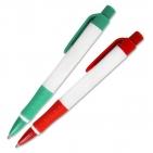 Druckkugelschreiber Maxima mit Softgripp- Gummimanschette