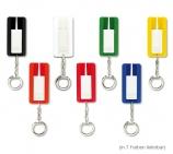 Reifenprofilprüfer als Schlüsselanhänger, mit mm-Raster und Schlüsselring