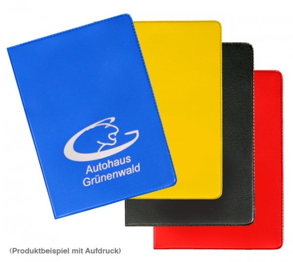 Führerscheintasche PVC  2-fach: mit 2 Steckfächer für z.B. KFZ-Schein, Ausweise Blau