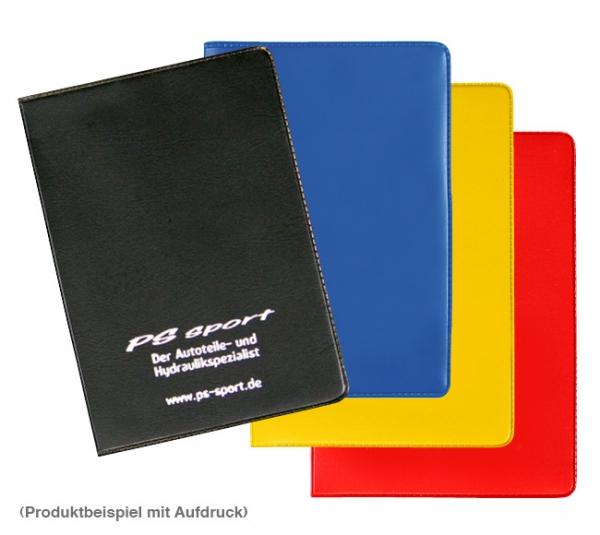 Führerscheintasche 4-fach mit Steckfächer Blau