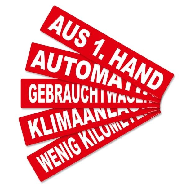 Miniletter Aus 1. Hand: Kennzeicheneinleger  AUS 1. HAND