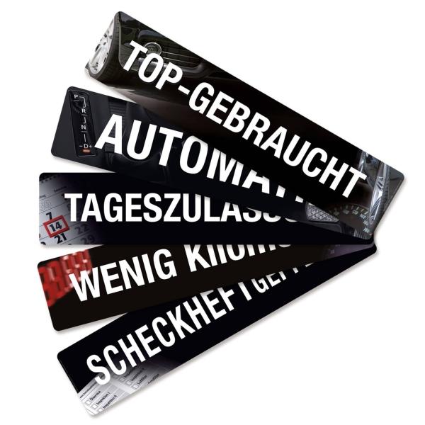 Kennzeicheneinleger Miniletter: Top-Gebraucht  Top-Gebraucht