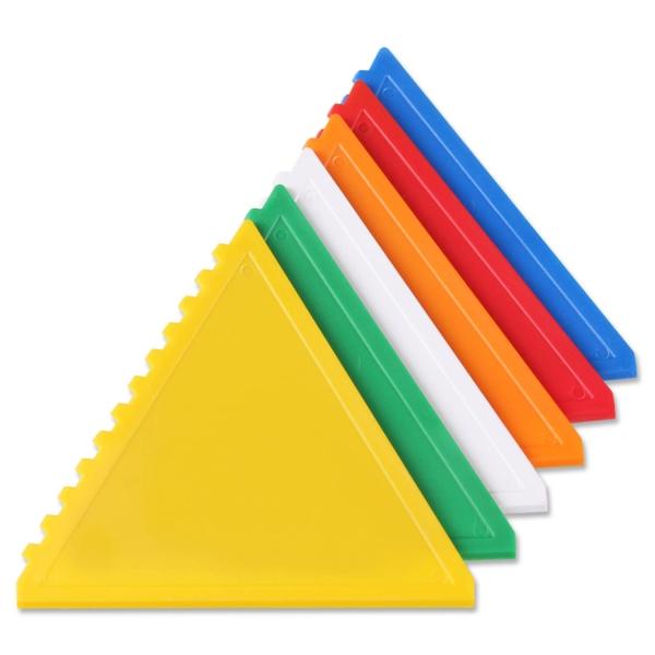"""Eiskratzer """"Dreieck"""": ein nützliches Zubehör für jeden Autofahrer Blau"""