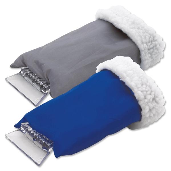 Eiskratzer Handschuh schützt Hände vor Kälte und Nässe  Blau