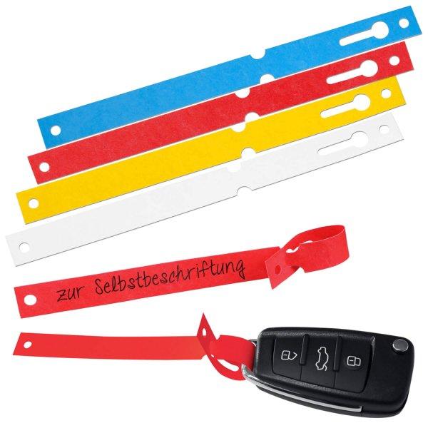 Schlaufenanhänger Schlaufenetiketten Tyvek®,  Länge 160 mm  Weiß