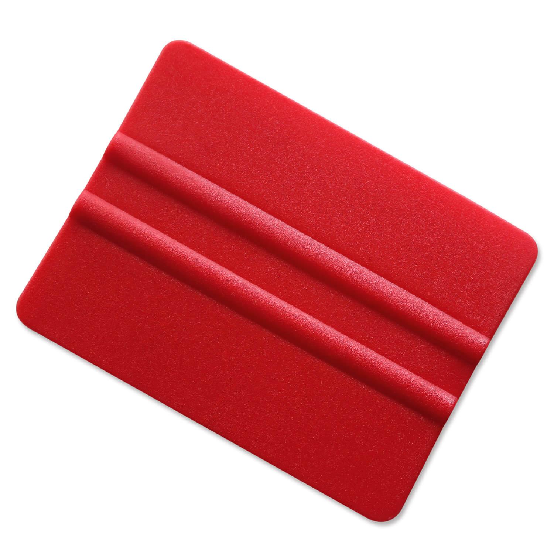 rakel f r folien anbringhilfe f r hafttaschen folien zur logomontage rot. Black Bedroom Furniture Sets. Home Design Ideas
