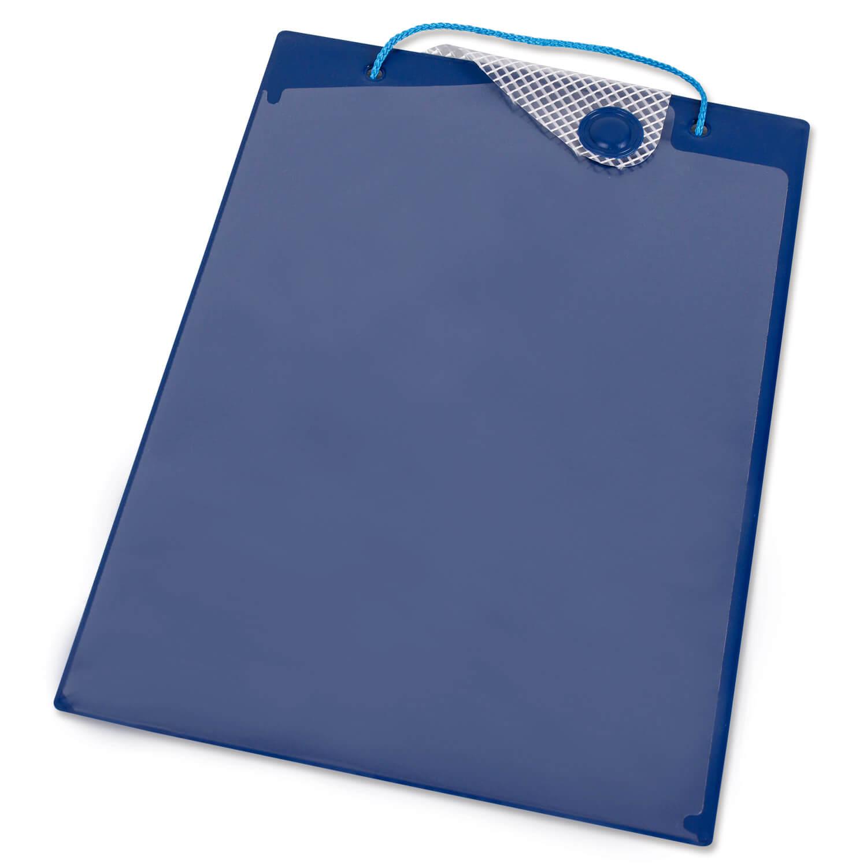 auftragstasche a4 mit schl sseltasche und magnetverschluss blau m magnet blau transparent. Black Bedroom Furniture Sets. Home Design Ideas