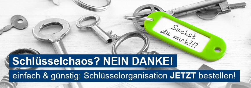 Banner Schlüsselorganisation